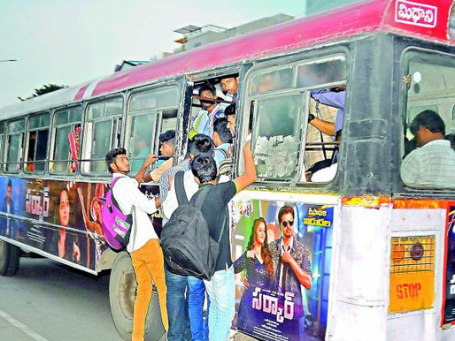 RTC city buses to ply on Hyderabad roads from June 8