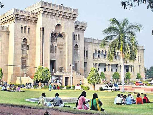 Osmania University hostels, mess reopen from Feb 16, 2021