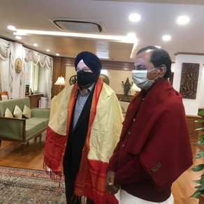 5 new airports in Telangana: KCR meets union civil aviation minister