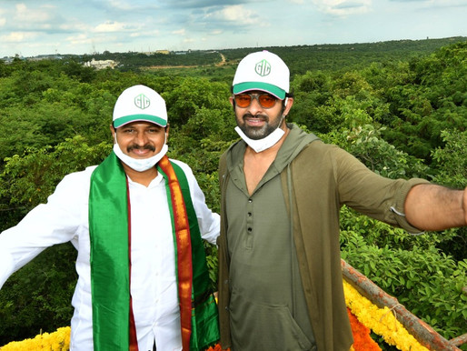Rebel Star Prabhas adopts reserve forest at Hyd Outer Ring Road, donates Rs 2 crore
