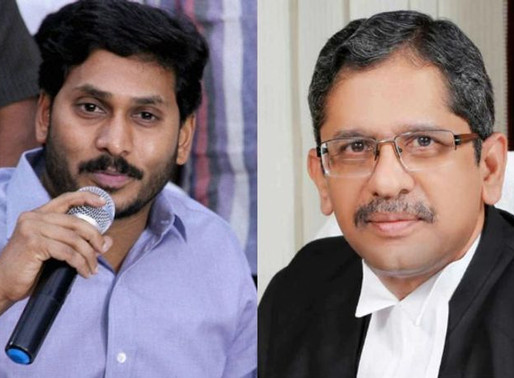 "Do ""A-1"" Jagan's complaints against Judges hold any value?"
