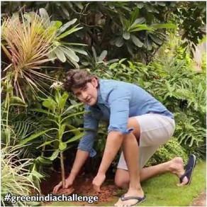 Mahesh Babu participates in Green India Challenge on his Birthday