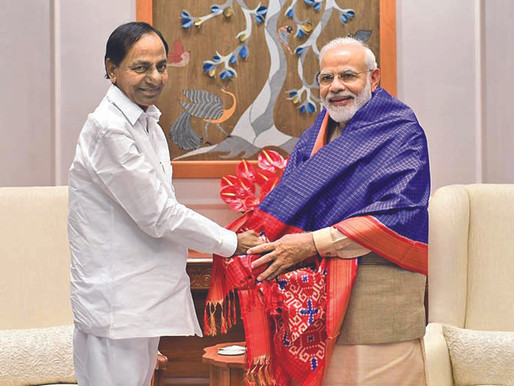 Modi cuts KCR's tail, KCR rushing to Delhi to meet Modi