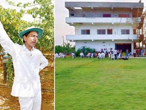 """Farmhouse CM"" KCR returns to Pragathi Bhavan after 2 weeks"