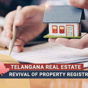 Flat/ plot/ home registrations commence in Telangana from Dec 11, 2020 after 3 months