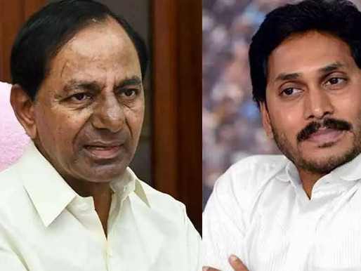 Corona enters KCR, Jagan offices on the same day!