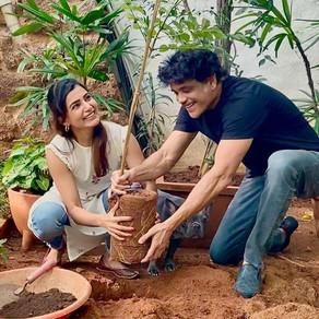 "Samantha accepts TRS MP Santosh's ""Green India Challenge"""