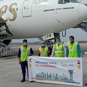 Hyd International Airport Resumes Direct Connection with Dubai