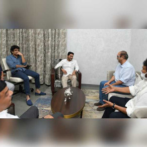 Tollywood gets 'double dhamaka' from Jagan, KCR