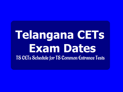 TS CETS 2020 schedule, Eamcet from July 6, Icet July 13, EdCet July 15, Ecet July 4,Polycet July1