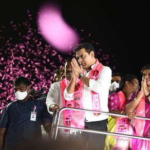 "GHMC Polls: KTR calls top BJP leaders visiting Hyd ""political tourists"""