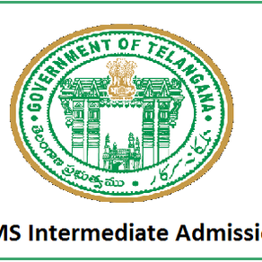 TS Model Schools: Inter Admissions 2021-22 Notification
