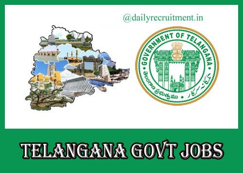 TS Govt Recruitment Exams 2021: 50K posts: Department Wise Vacancies