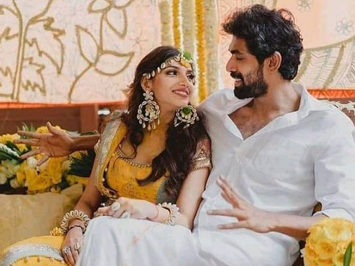 Actor Rana-Miheeka tie knot in low-key wedding in Hyd