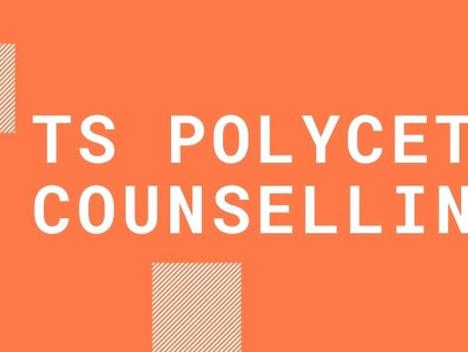 TS Polycet 2021 1st phase counselling: Latest Update