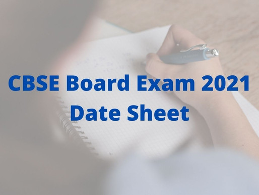 CBSE Notice on Class 10, 12 board exams 2021