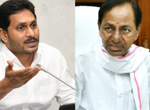 Jagan shakes KCR with his aggression