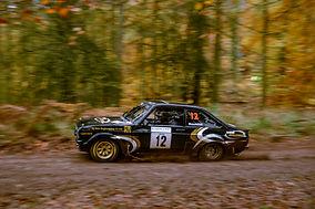 Alex Allingham Ross Weir Ford Escort Mk2