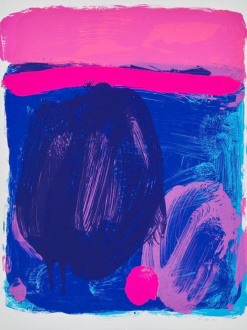 Sea Buoy (blue / pink)