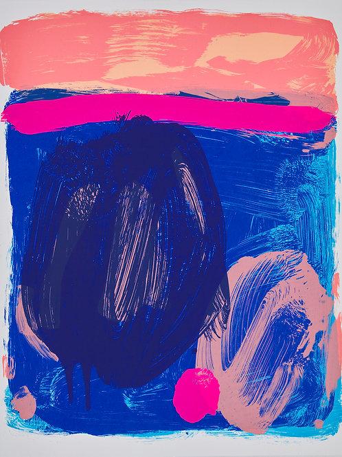 Sea Buoy (blue / coral)