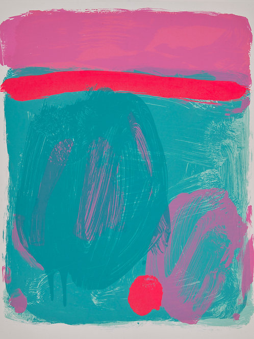 Sea Buoy (turquoise / pink)