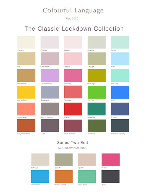 The Classic Lockdown Collection - white
