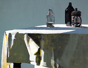 Milk Bottle and Cafetiere 70x90cm.jpg
