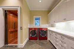 Mud Room - Laundry with Elevator