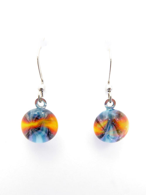 Vwf14 glass earrings / boucles d'oreilles