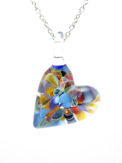 MC8 glass pendant / pendentif en verre