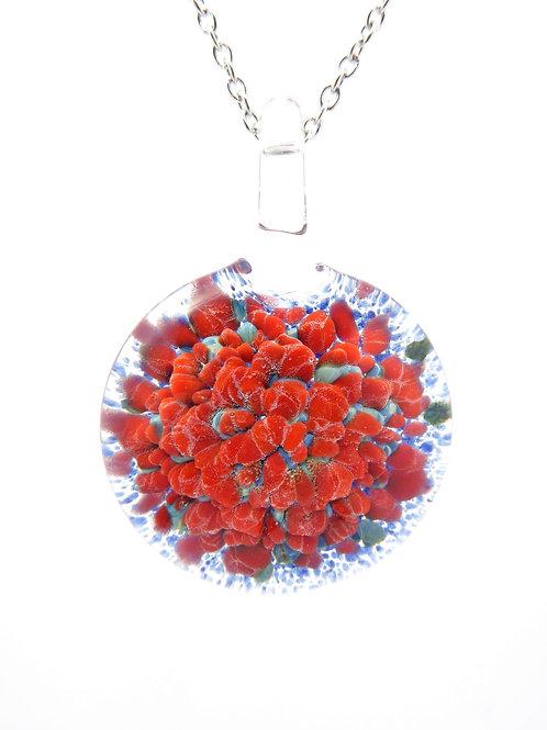 LF19 glass pendant / pendentif en  verre