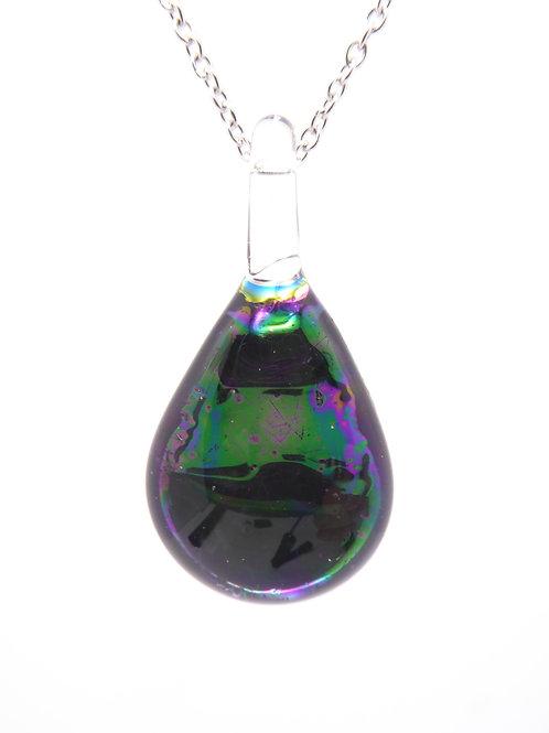 AB9 glass pendant / pendentif en verre