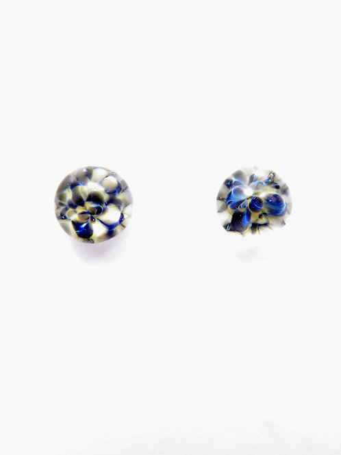 SW13 glass earrings / boucles d'oreilles en verre