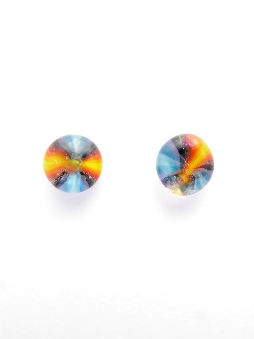 Vwf13 glass earrings / boucles d'oreilles