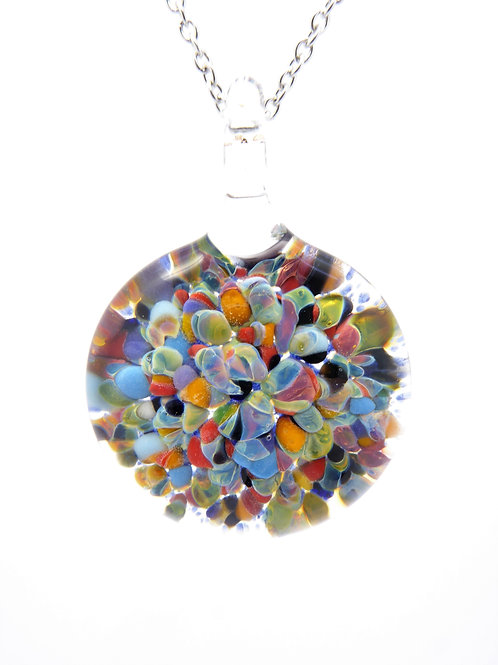 MC19 glass pendant / pendentif en verre