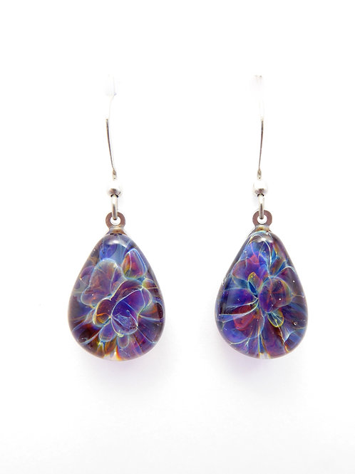 GV12 glass earrings / boucle d'oreilles en verre