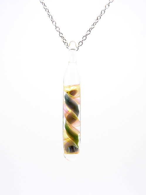 SP17 glass pendant / pendentif en verre