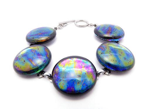 AB10 glass bracelet / bracelet en verre