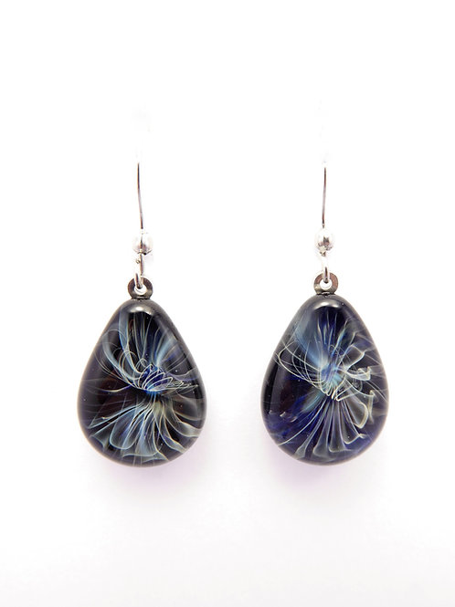 G12 glass earrings / boucle d'oreilles en verre
