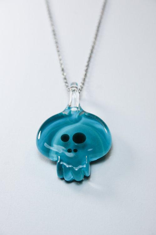 Pendant Skull Turquoise Pendentif