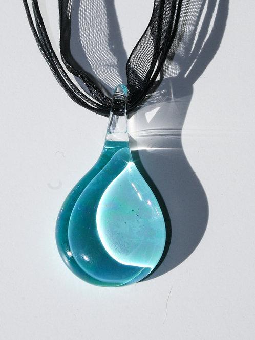 Pendant Aurora Turquoise Light Pendentif