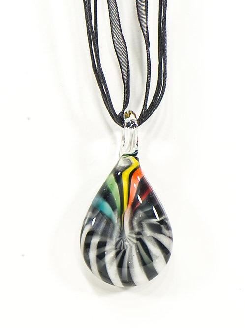 Vbc9 glass pendent - pendentif en verre