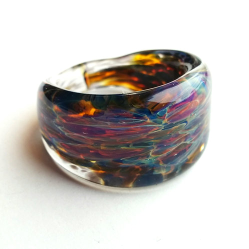 GV16 glass ring - bague en verre