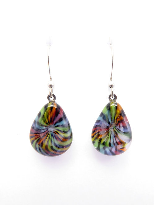 Vc12 glass earrings / boucle d'oreilles en verre