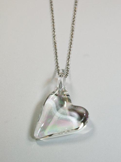 AC8 glass pendant / pendentif en verre
