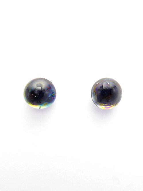AB13 glass earrings / boucles d'oreilles en verre