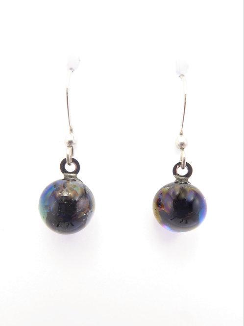 AB14 glass earrings / boucles d'oreilles en verre