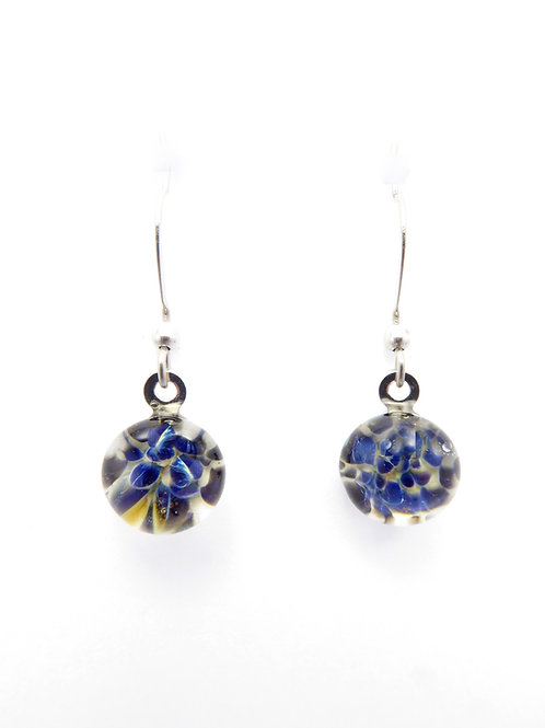 SW14 glass earrings / boucles d'oreilles en verre