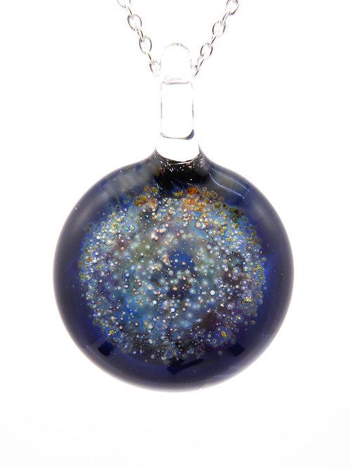 SN19 glass pendant / pendentif en  verre