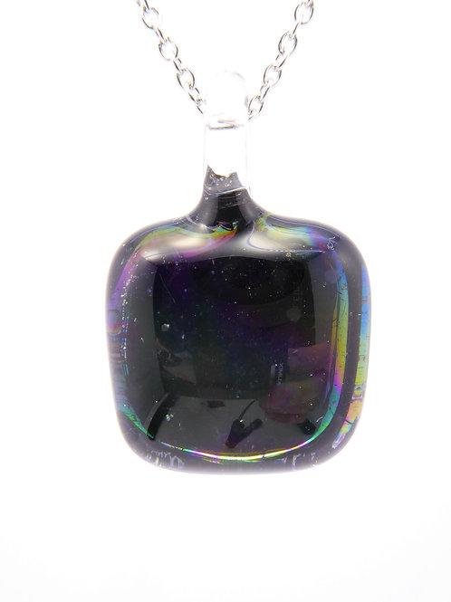 AB2 glass pendant / pendentif en verre